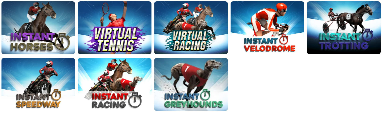virtual sports catalogue