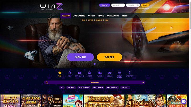 winzz lobby screenshot