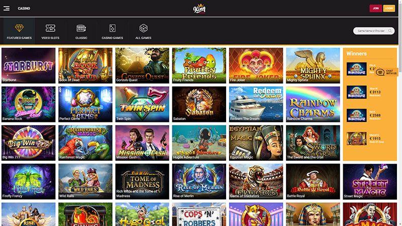 king casino lobby screenshot