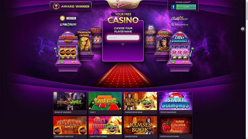 myjackpot lobby screenshot