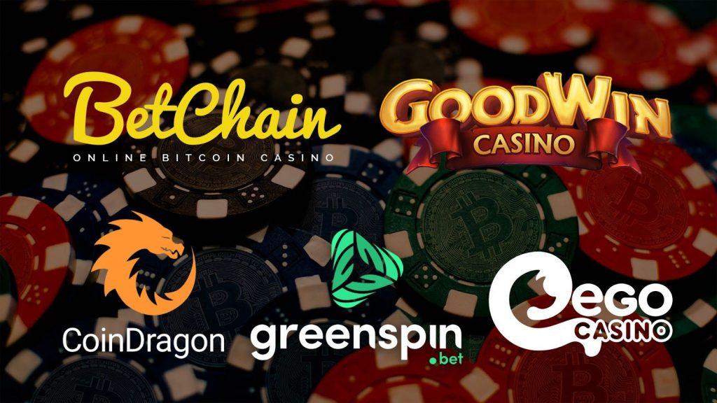 Top 5 Bitcoin Casinos in June 2020
