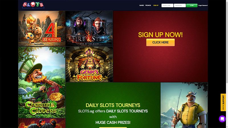 slotsag lobby screenshot