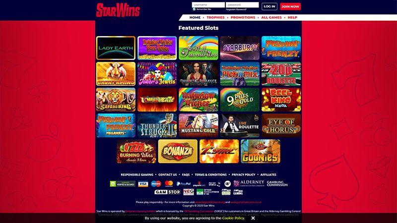 tiger gaming lobby screenshot