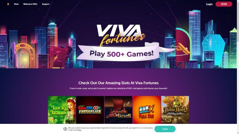 viva lobby screenshot