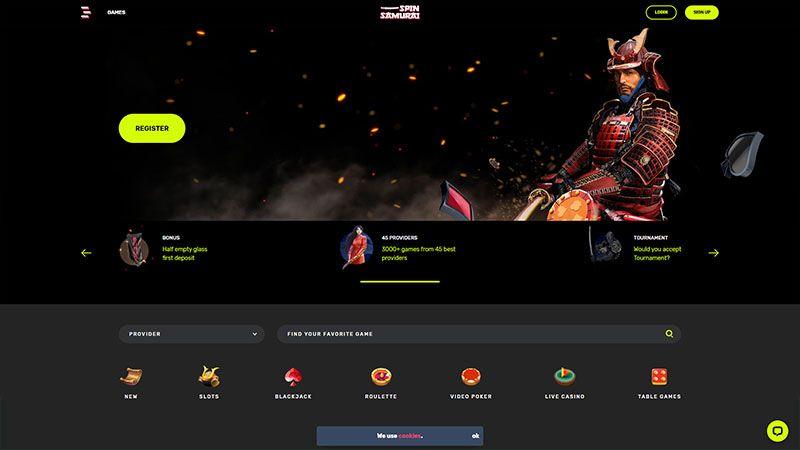Spin Samurai Casino Bonus Codes 2021