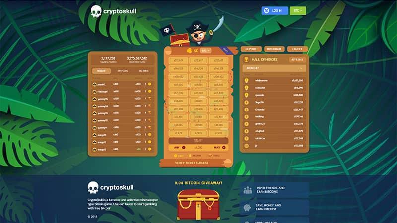 cryptoskull lobby screenshot