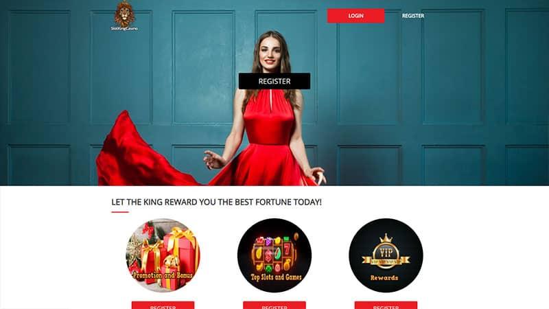 slot king casino lobby screenshot
