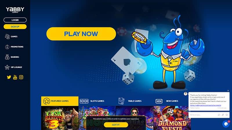 yabby lobby screenshot