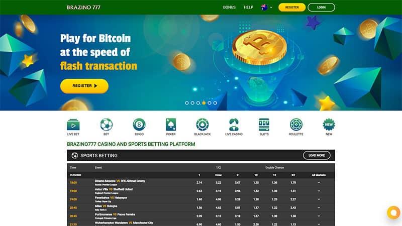 brazino777 lobby screenshot