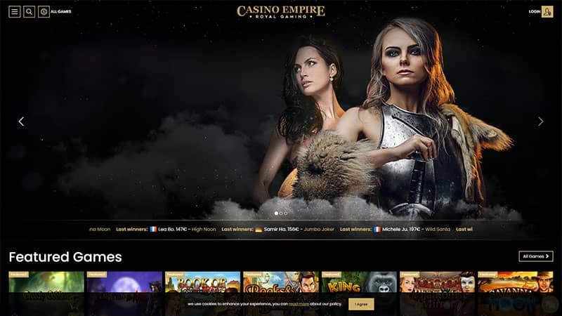 casino empire lobby screenshot