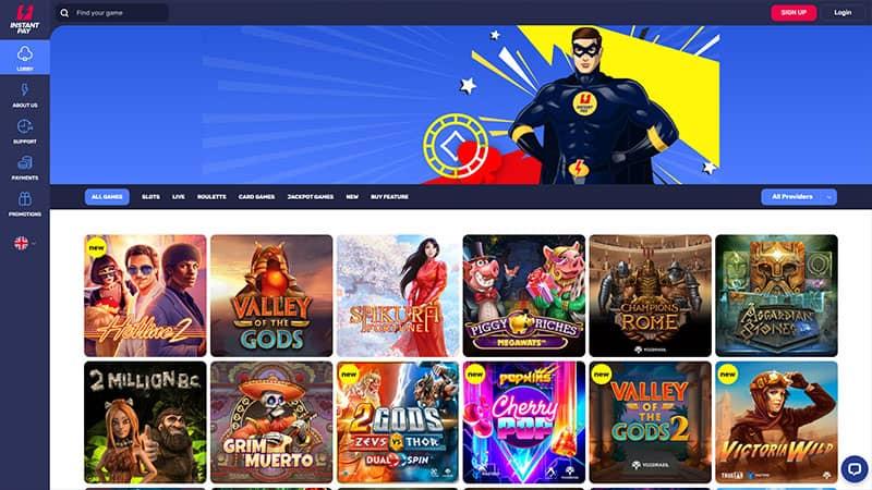instantpay lobby screenshot