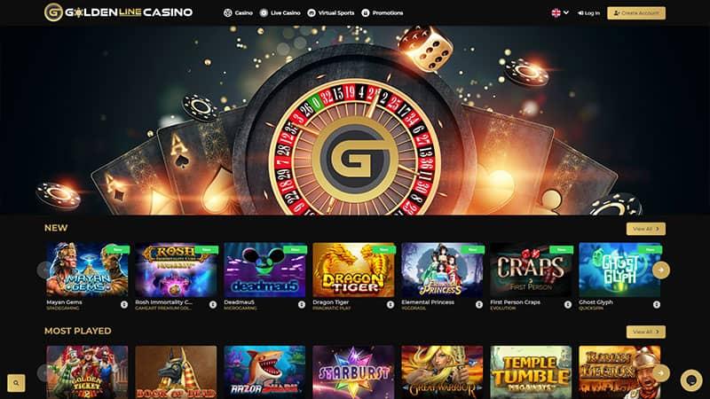goldenline lobby screenshot