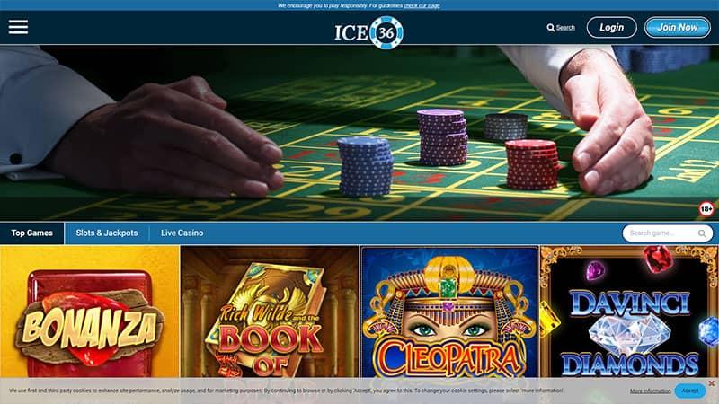 ice36 lobby screenshot