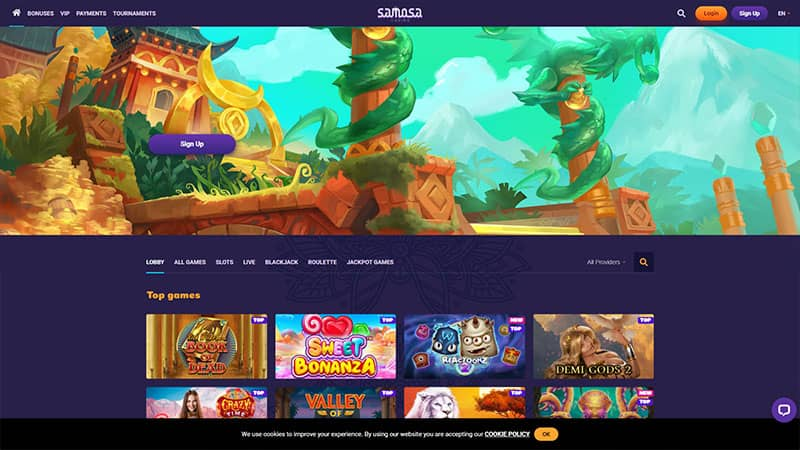 samosa lobby screenshot