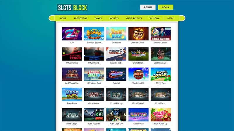 slots block lobby screenshot