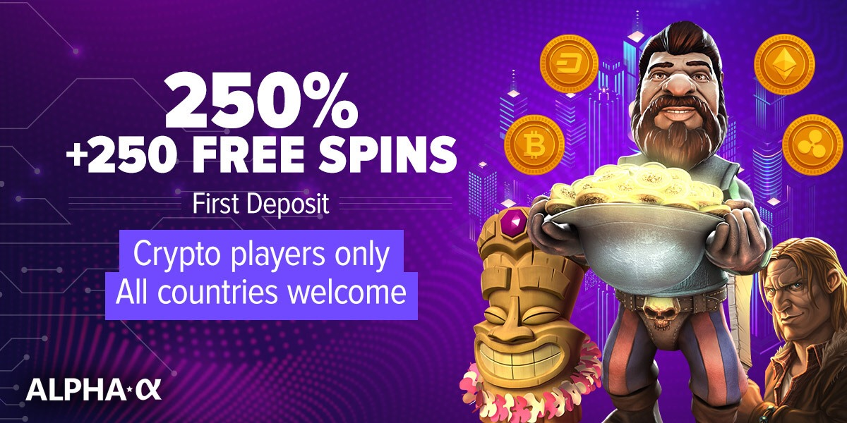 Casino Alpha exclusive bonus