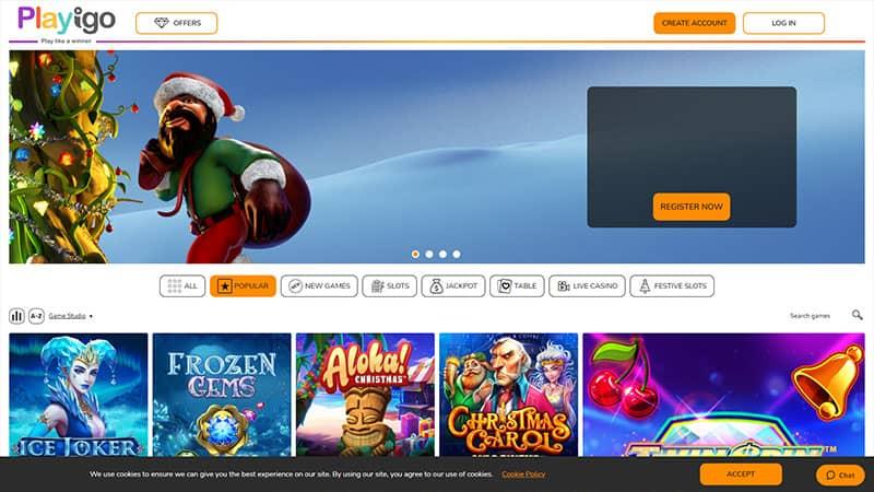 playigo lobby screenshot