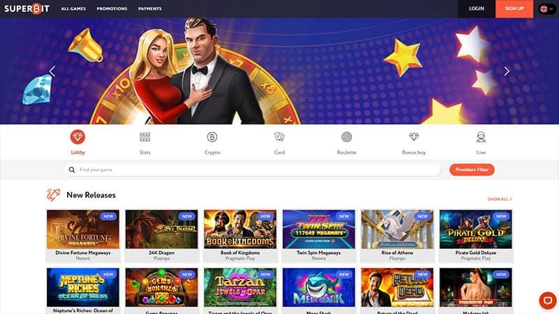 superbit lobby screenshot