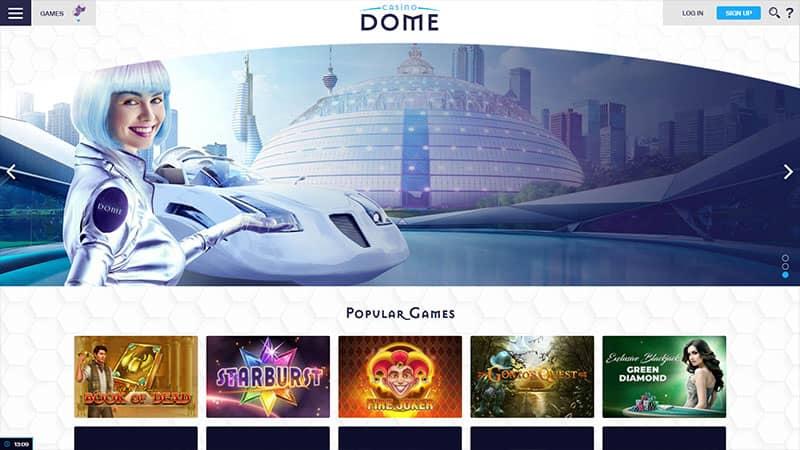 casino dome lobby screenshot