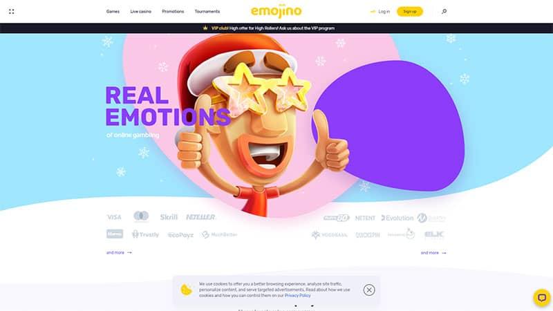 emojino lobby screenshot