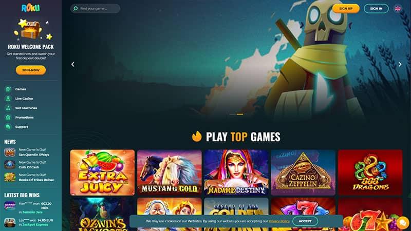 roku lobby screenshot