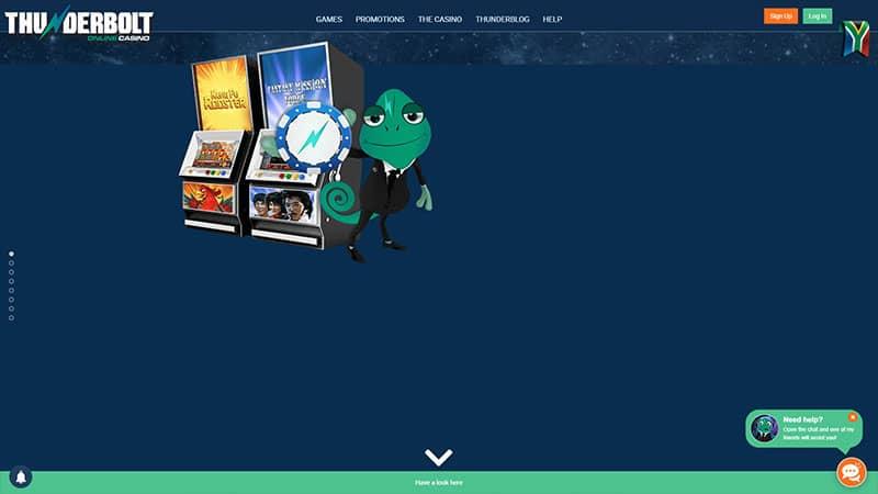 thunderbolt lobby screenshot