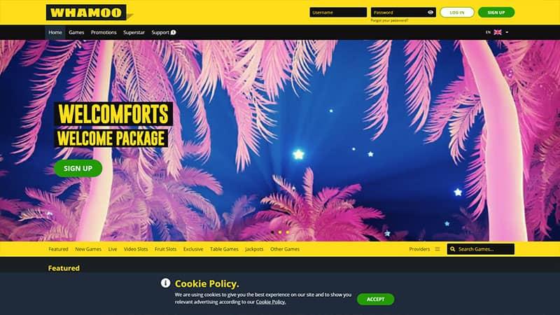 whamoo lobby screenshot