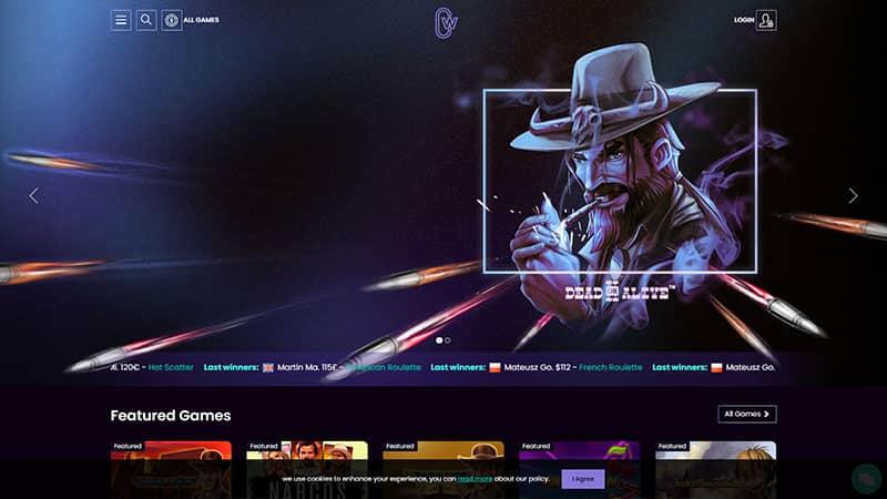 casinowin lobby screenshot