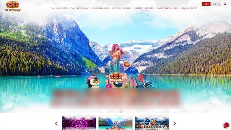 777slotsbay lobby screenshot
