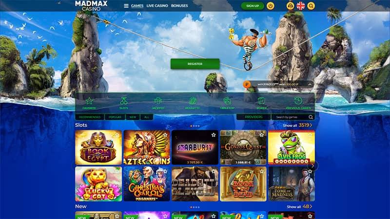 madmax lobby screenshot