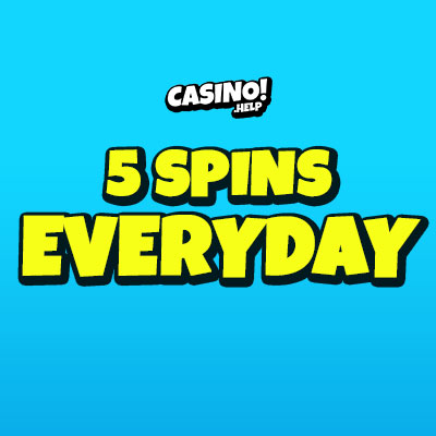 5 spins everyday