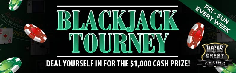 VC blackjack tourney may