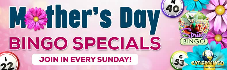 cb mothers day bingo specials