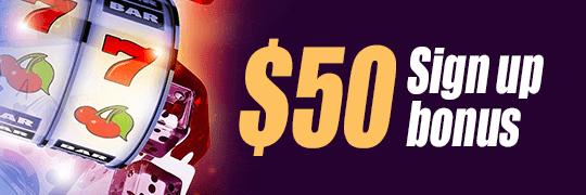 50sign up bonus