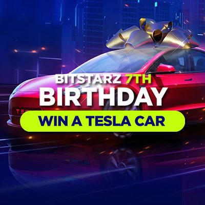 bitstarz win a tesla