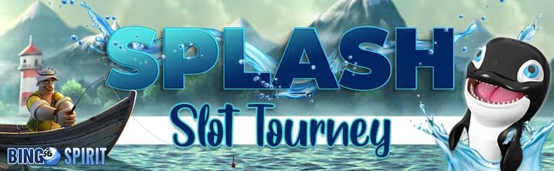 bingospirit splash slot tourney