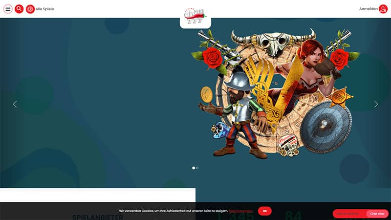 chilli777 lobby screenshot