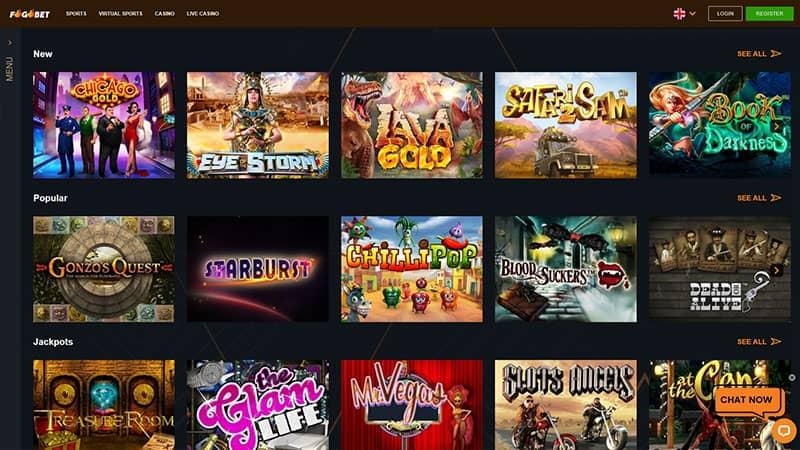 fogobet lobby screenshot