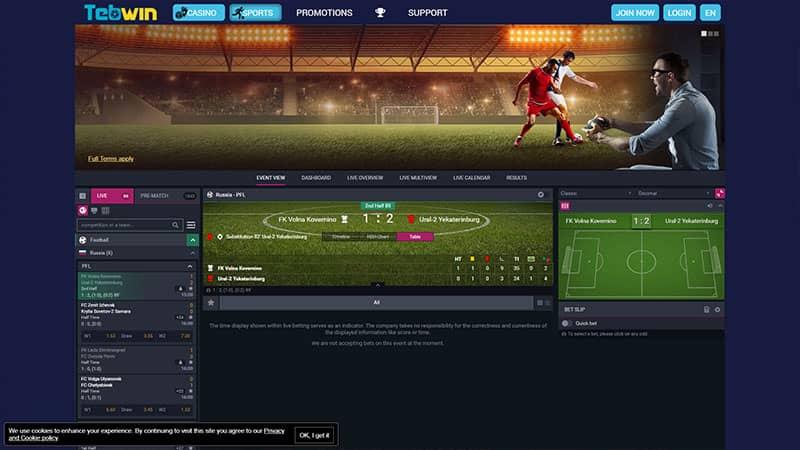 tebwin lobby screenshot