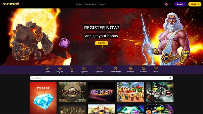 fortusino lobby screenshot
