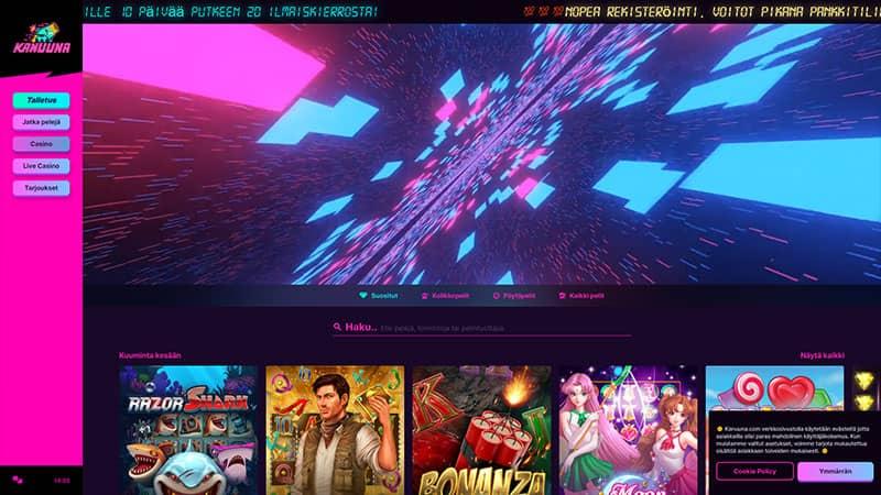 kanuua lobby screenshot