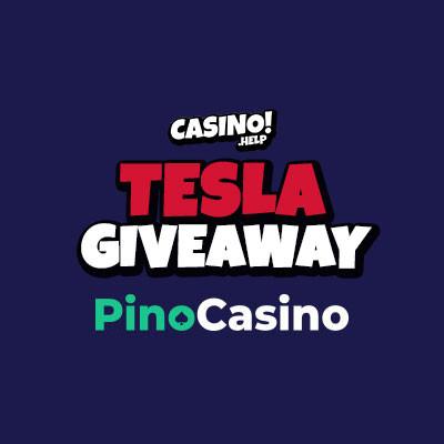 tesla giveaway from pinocasino