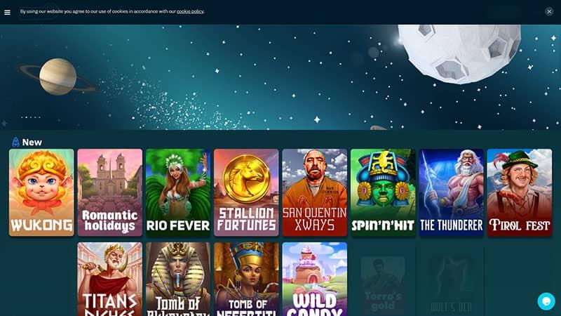 zenbet lobby screenshot
