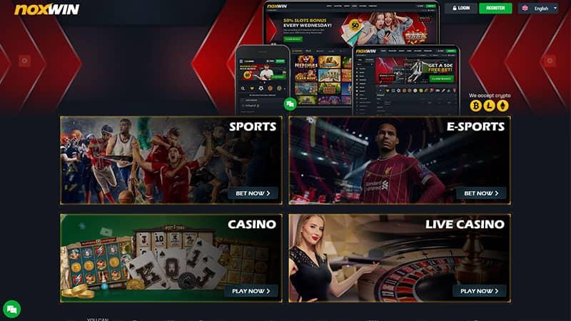noxwin lobby screenshot