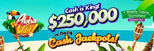 daily cash jackpots