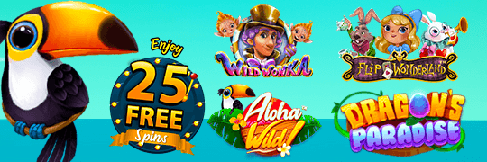 free spins weekly offer limited