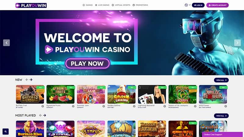 playouwin lobby screenshot